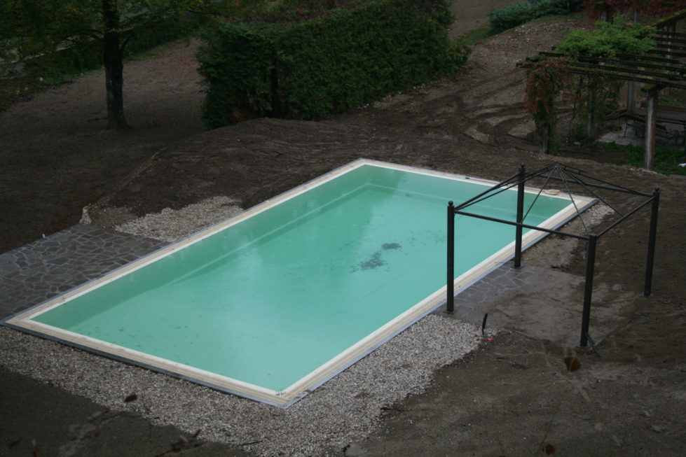 Impermealibizzazione piscina