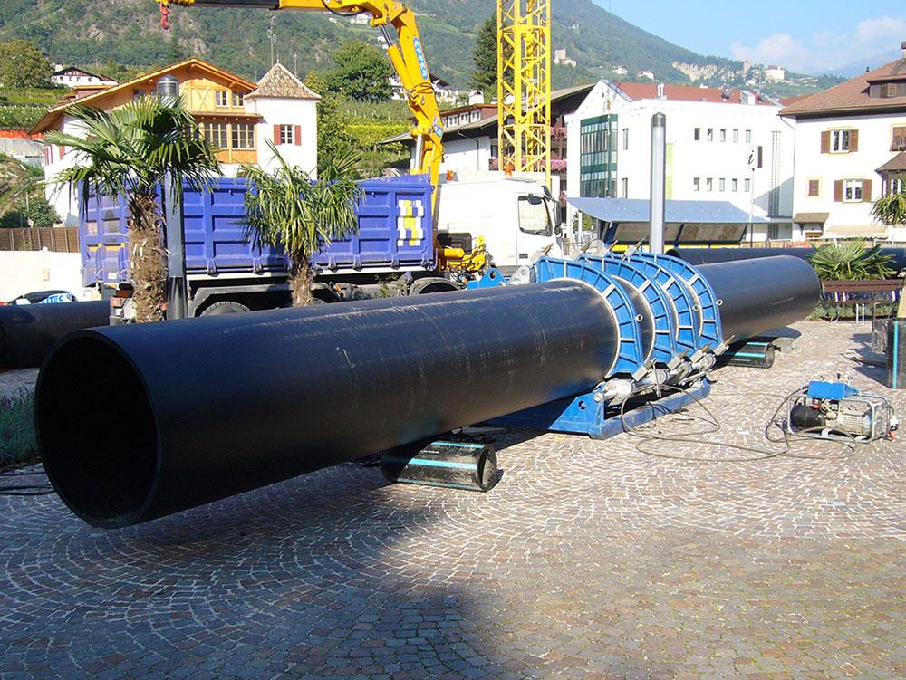 Tubazioni in PE per acquedotto